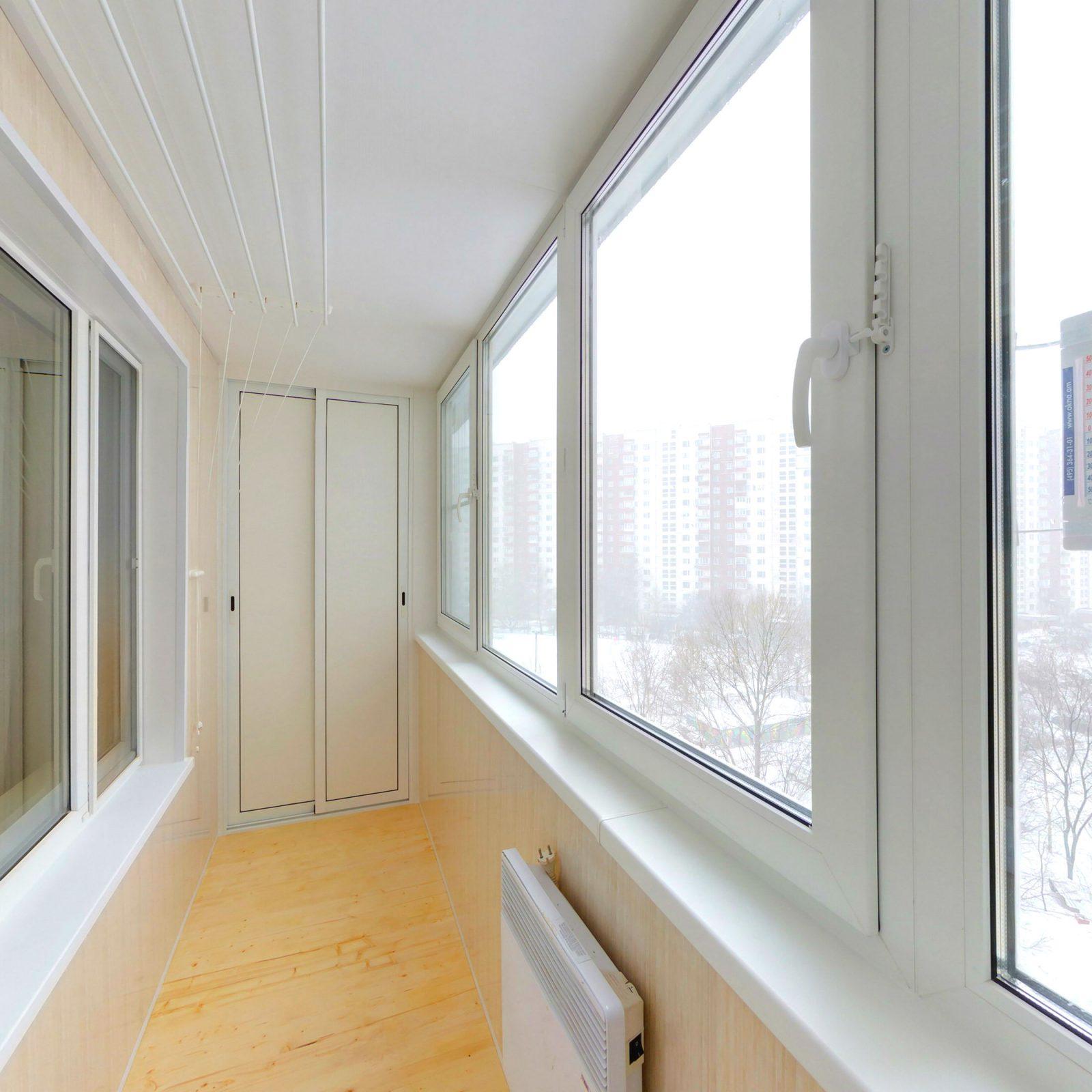Ремонт балконов под ключ москва.